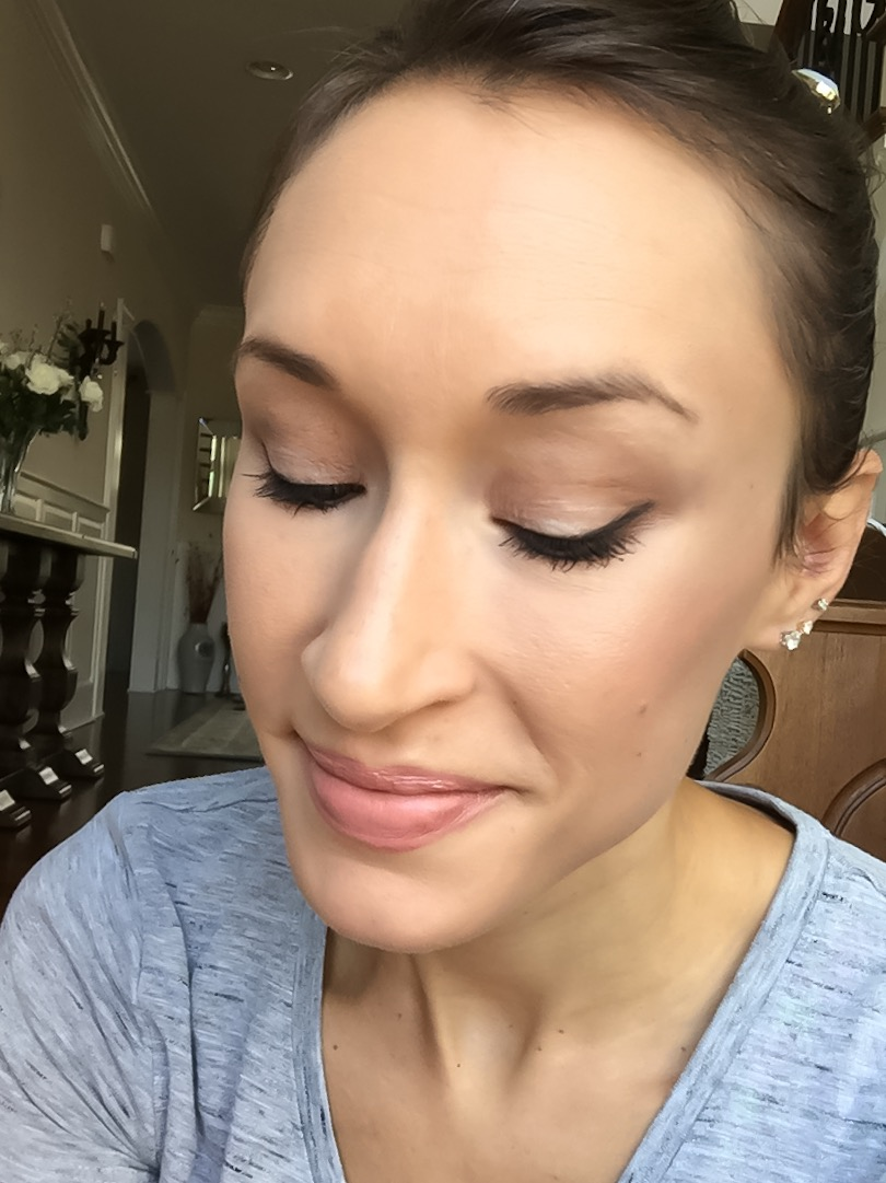 5-minute makeup tutorial- tarte energy noir clay palette