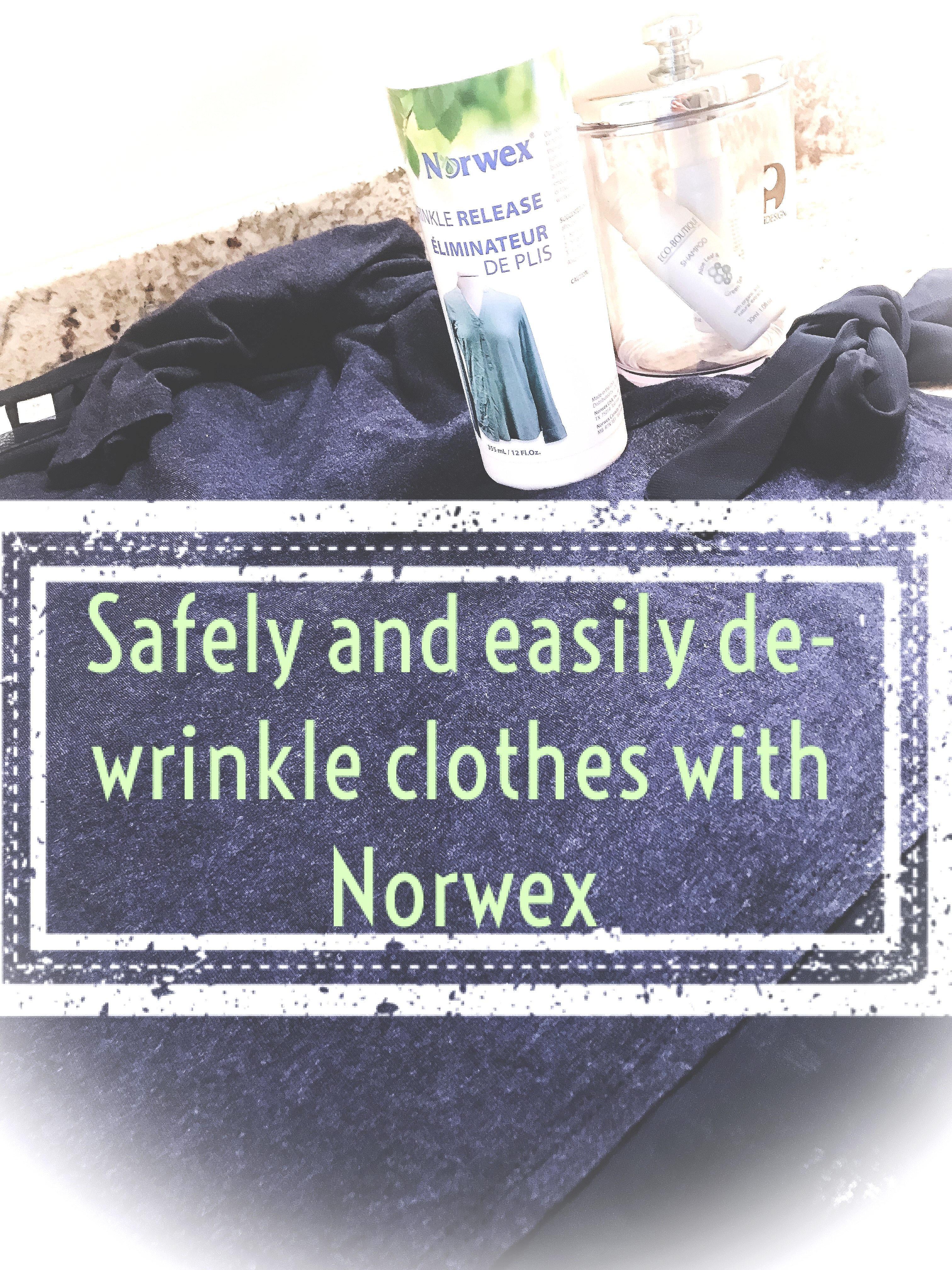 norwex wrinkle release spray