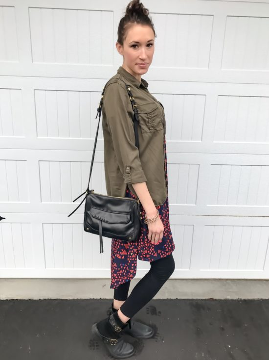10 ways to wear a LulaRoe Carly Dress- casual 1
