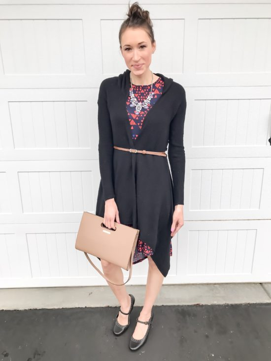 10 ways to wear a LulaRoe Carly dress- business casual 3