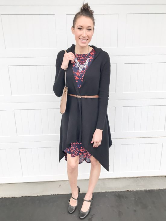 10 ways to wear a LulaRoe Carly dress- business casual 5