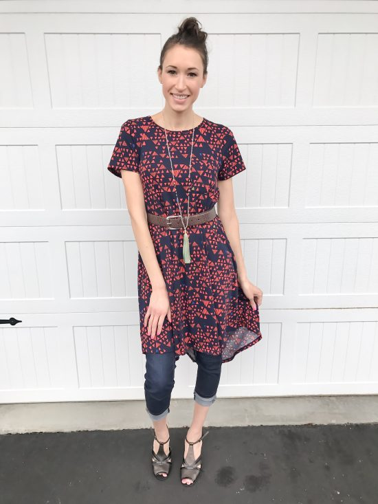 10 ways to wear a LulaRoe Carly dress- casual chic