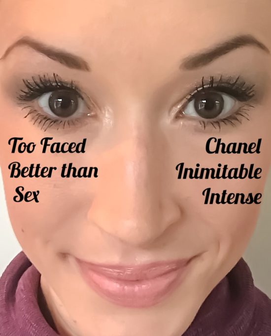 Too Faced Better than Sex vs. Chanel Inimitable Intense