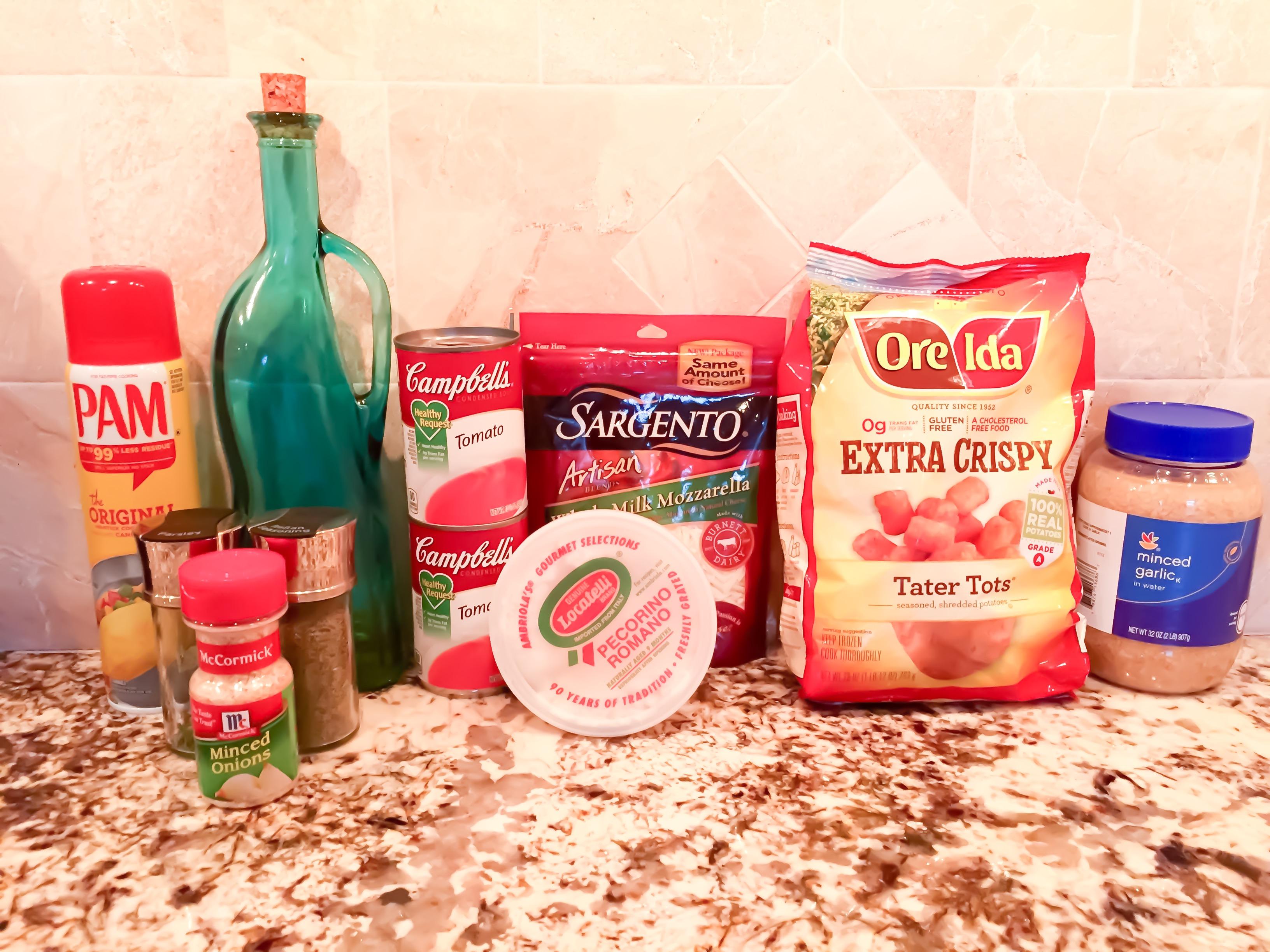 tator tot casserole: the ultimate comfort food- ingredients