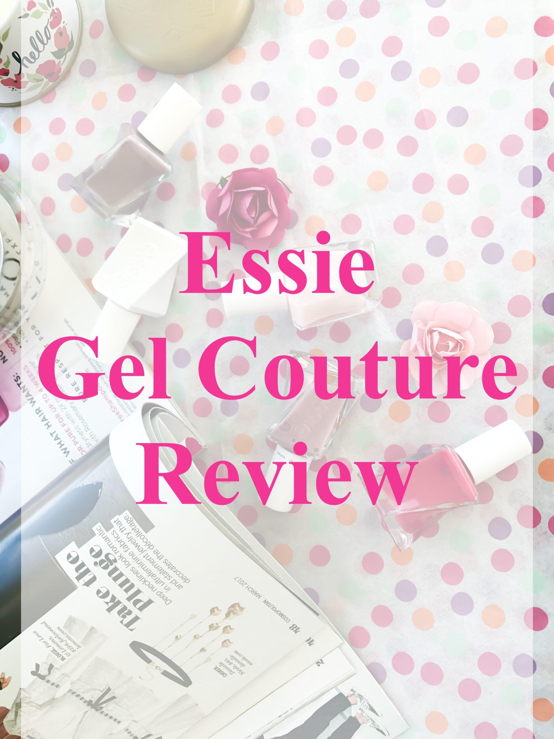Essie Gel Couture