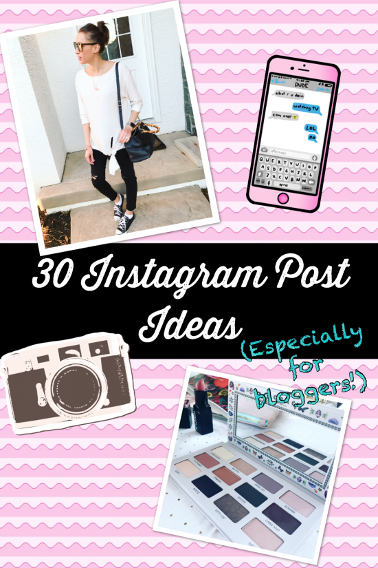 Instagram Post Ideas