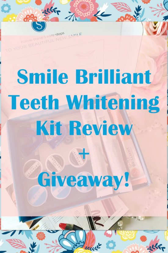 Smile Brilliant Teeth Whitening Kit