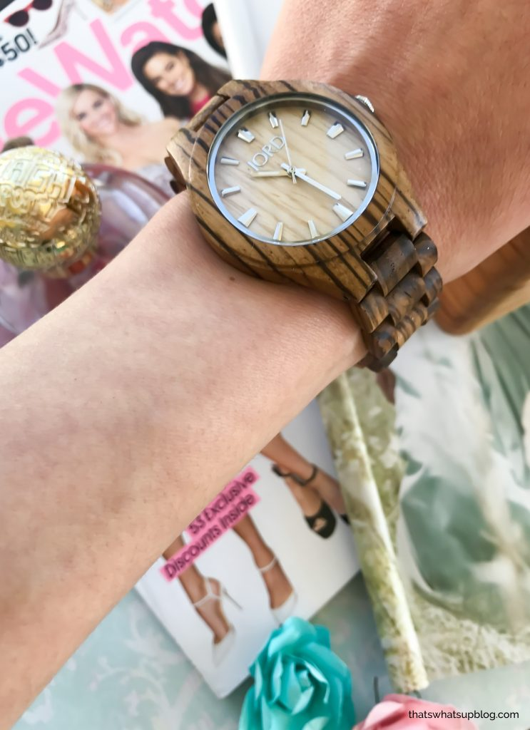 Spring is Blooming with JORD- wrist style