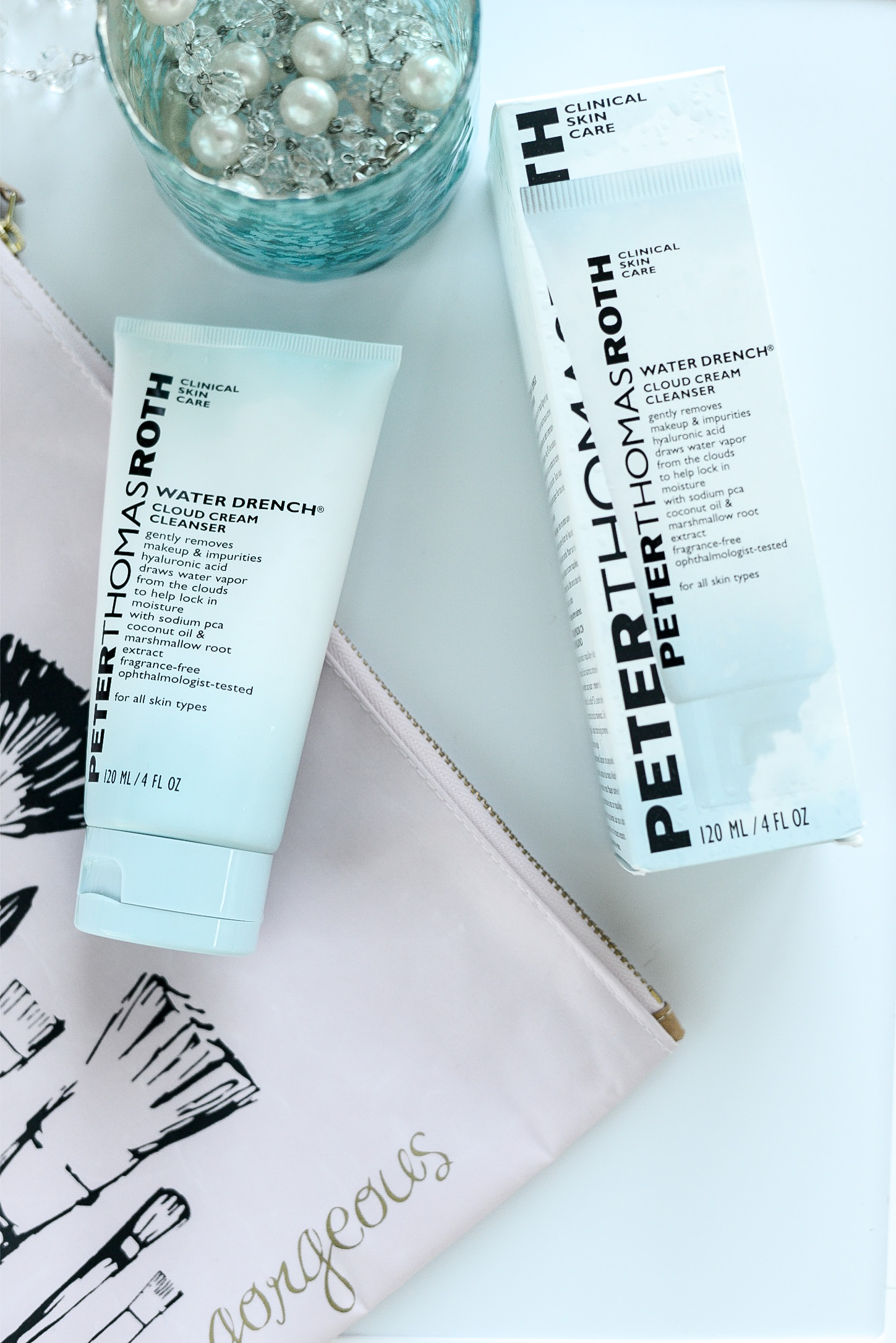 The Skincare Product I Use to Start and End My Day- Peter Thomas Roth Water Drench Cloud Cream Cleanser