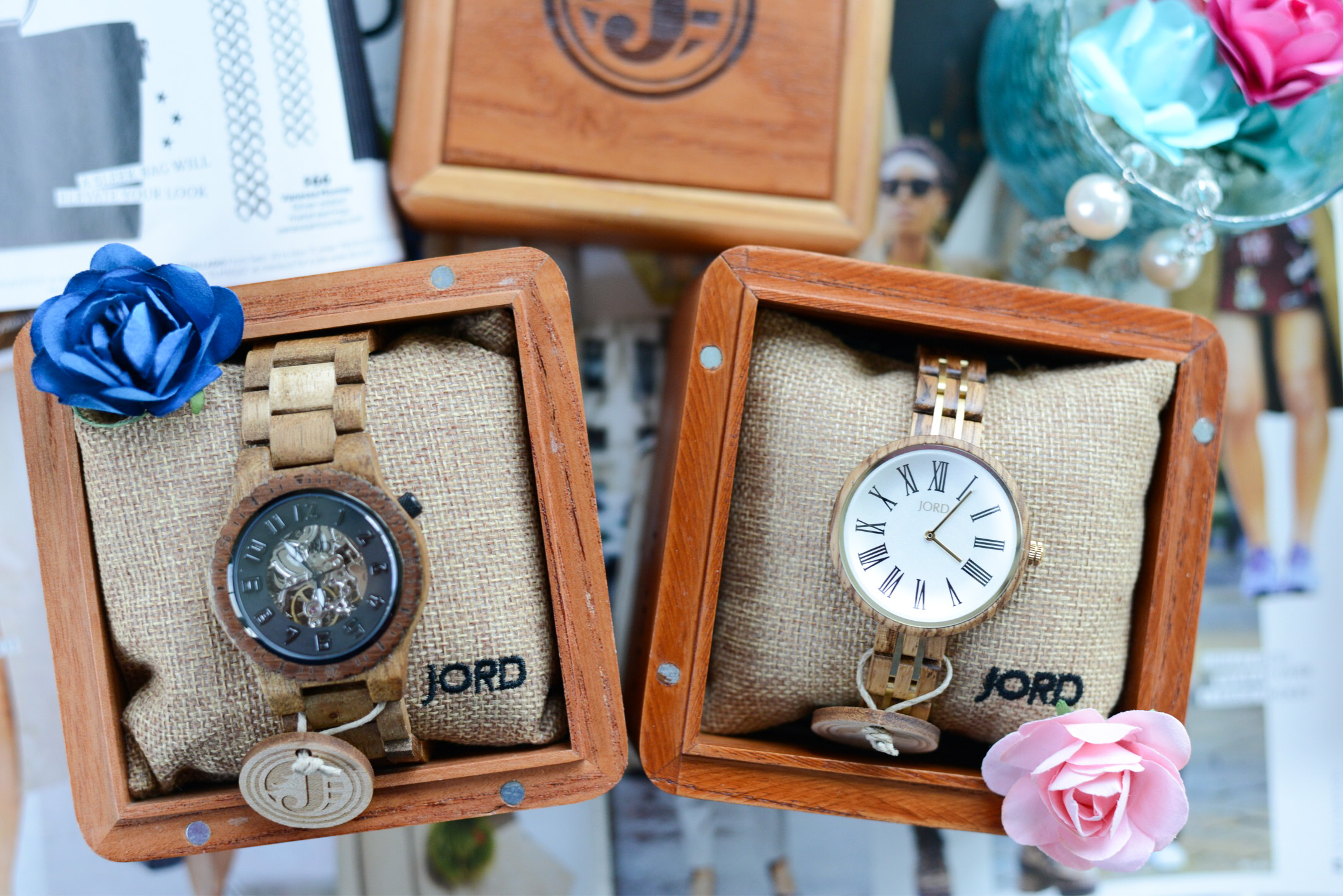 Let Your Style Shine with JORD- unique wood watch, women's watch, women's wooden watch