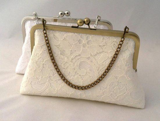 lace handbag clutch