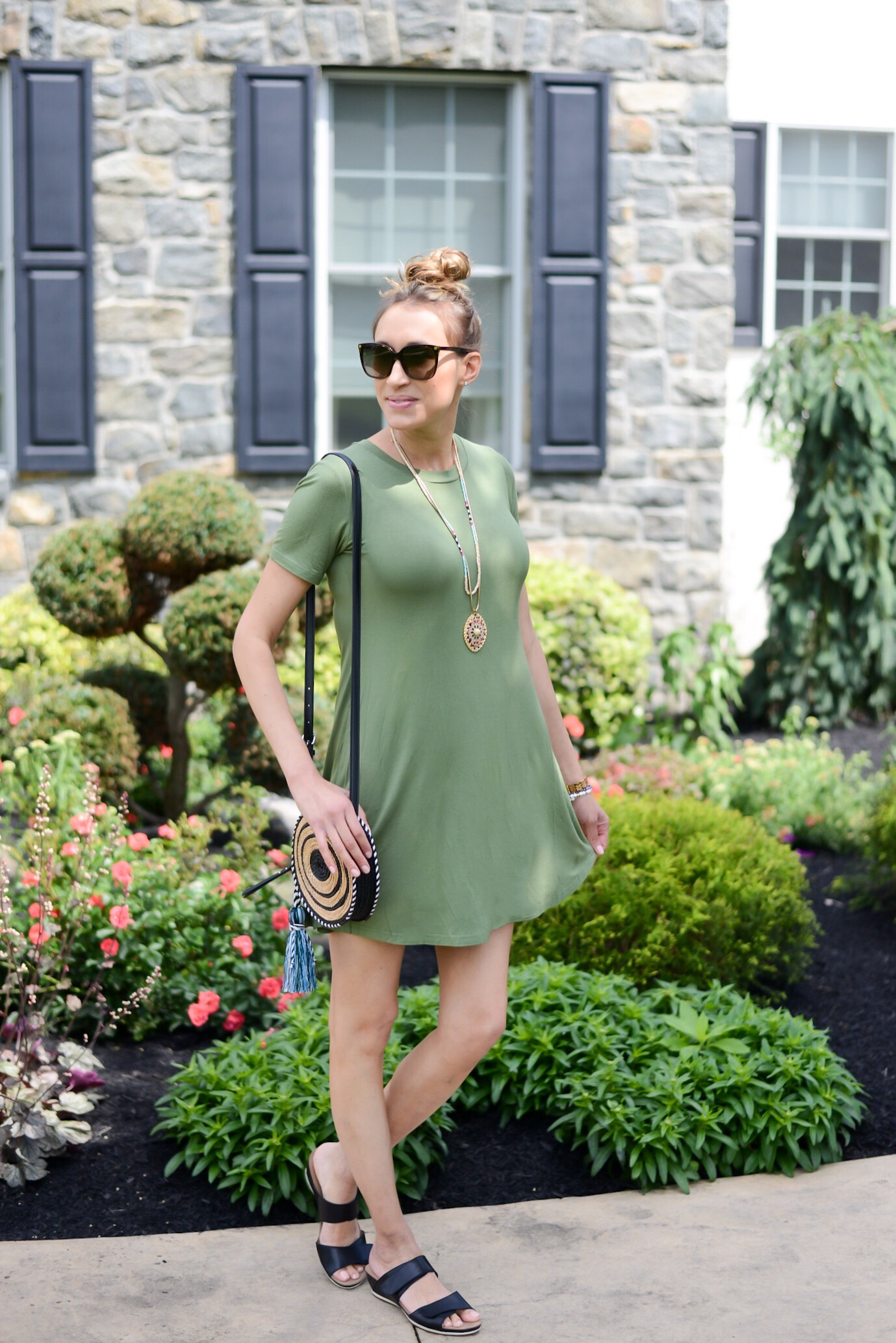 Summer Fashion Amazon Finds Under $21 (See My Outfits!)- t-shirt tunic dress
