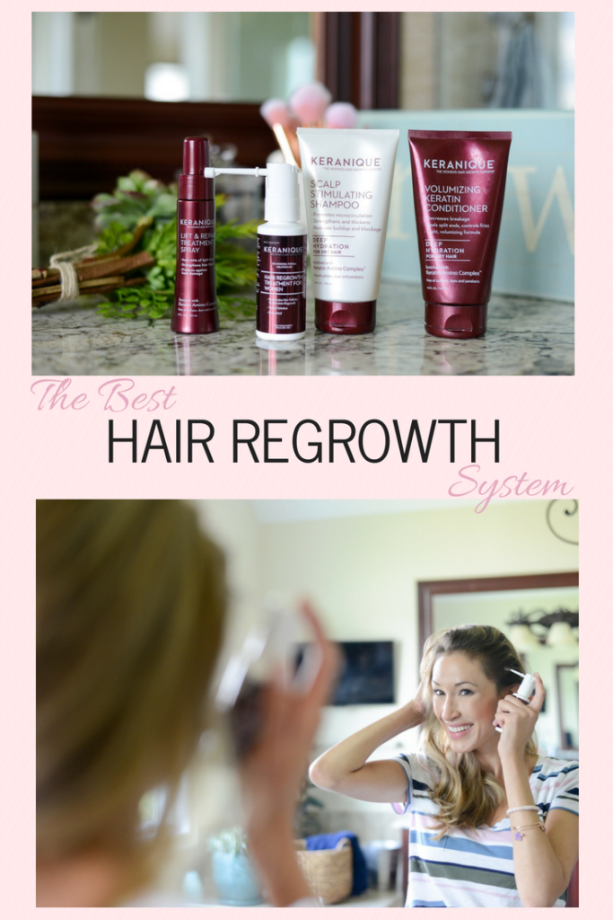I've discovered Keranique Hair Regrowth System!  My broken and thin hair has been on the mend!  And since it is Hair Loss Awareness Month, I thought I'd share my experience!