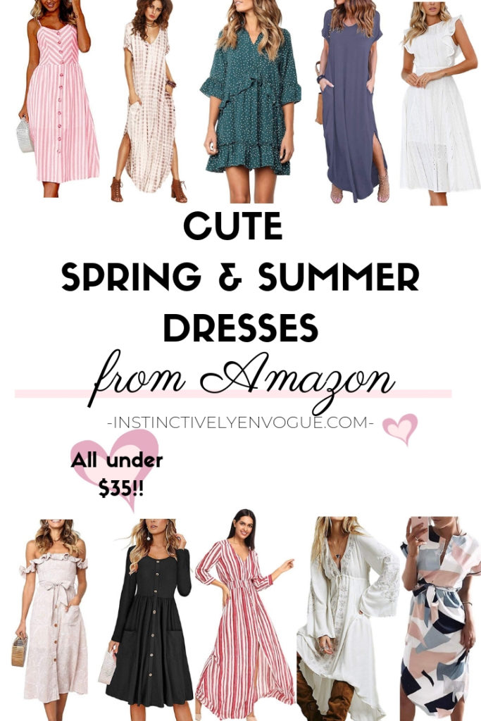 625917218435 Cute Spring and Summer Dresses from Amazon- All Under $35 ...