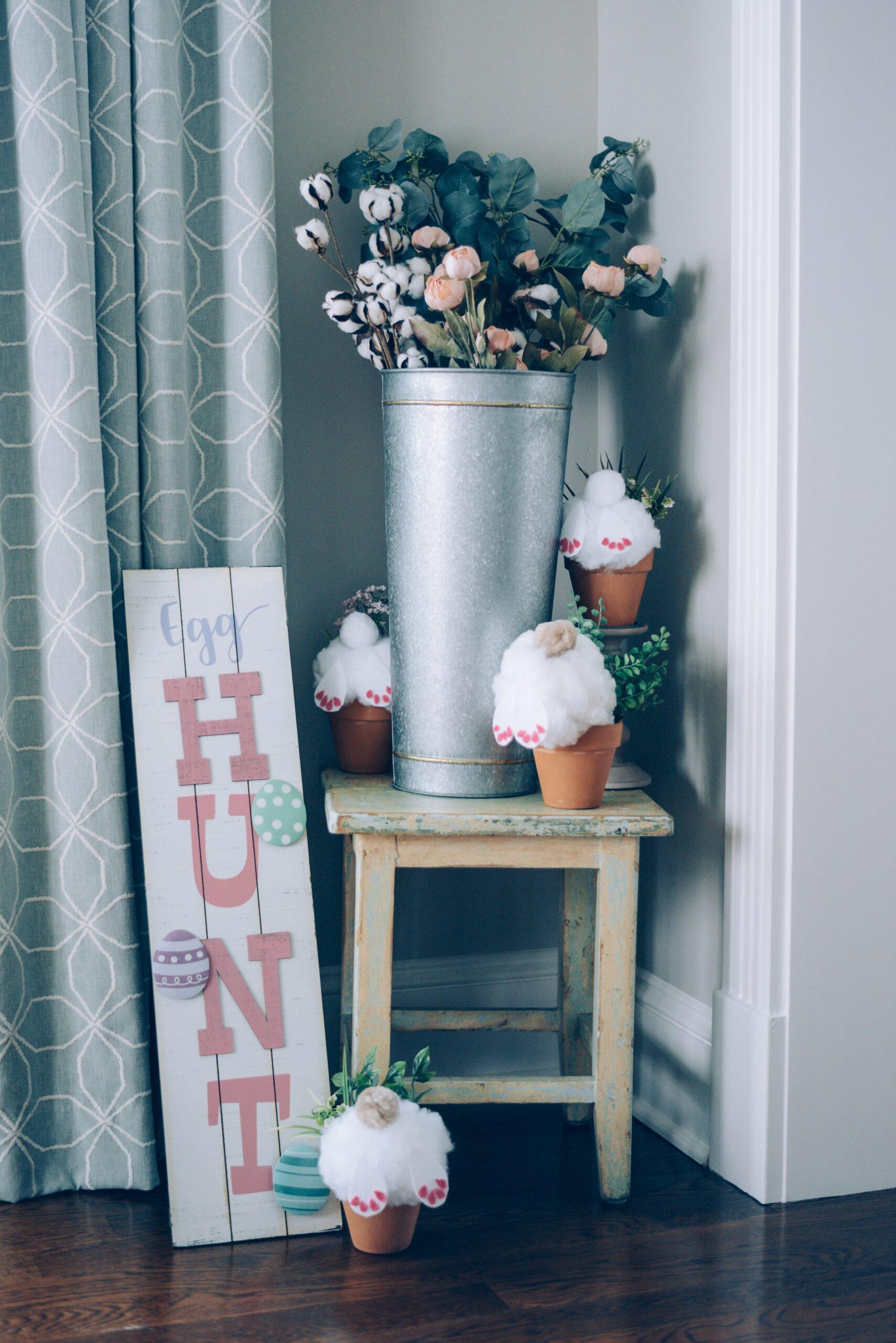 The Cutest Diy Spring Easter Home Decor Idea Instinctively En Vogue